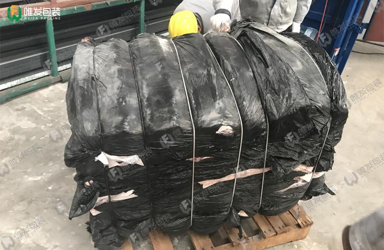 铝型材包装膜打包机,PVC薄膜液压打包机