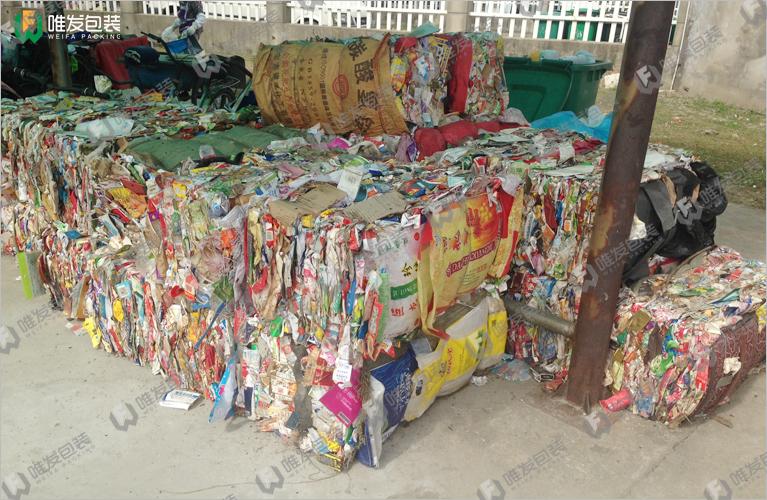 垃圾打包机,企业/社区垃圾压缩打包机
