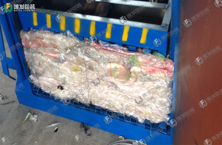 废旧塑料膜打包机,塑料薄膜打包机,薄膜边角料打包机