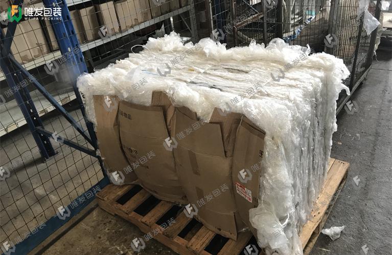 PE薄膜压缩打包机,工厂塑料膜液压打包机